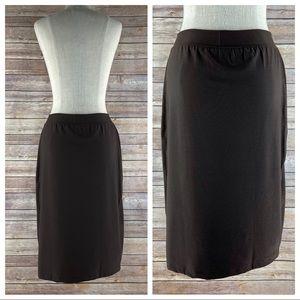 Spanx Bod A Bing Shapewear Lined Pencil Skirt